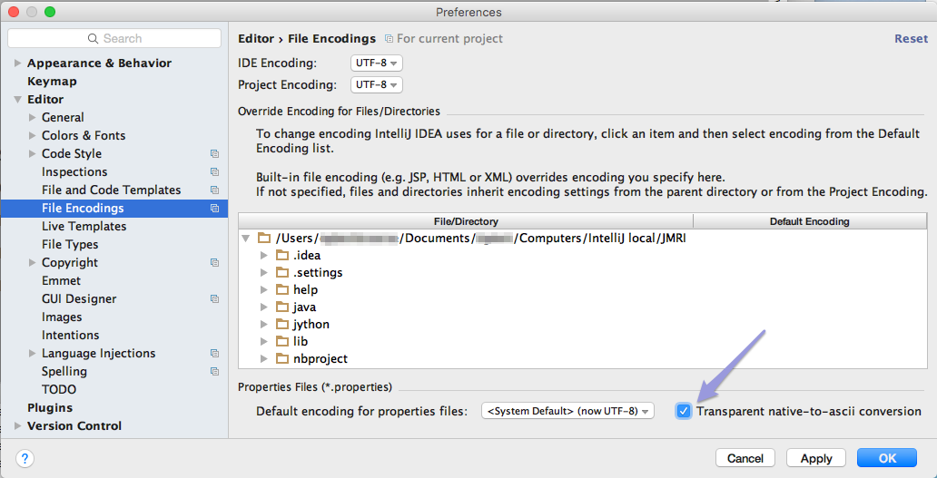 INTELLIJ PLUGIN DEVELOPMENT SETTINGS - JMRI: Building with