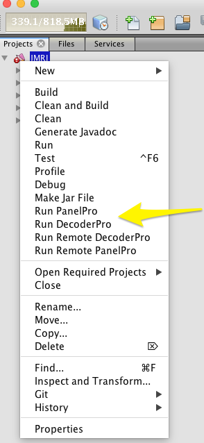 JMRI: Building with NetBeans