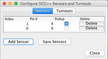 JMRI Hardware Support - DCC++