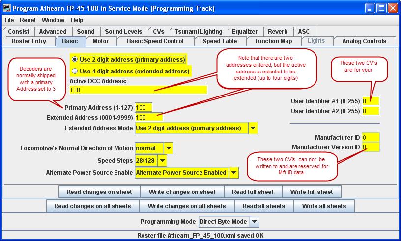 Comprehensive Programmer - Basic Pane