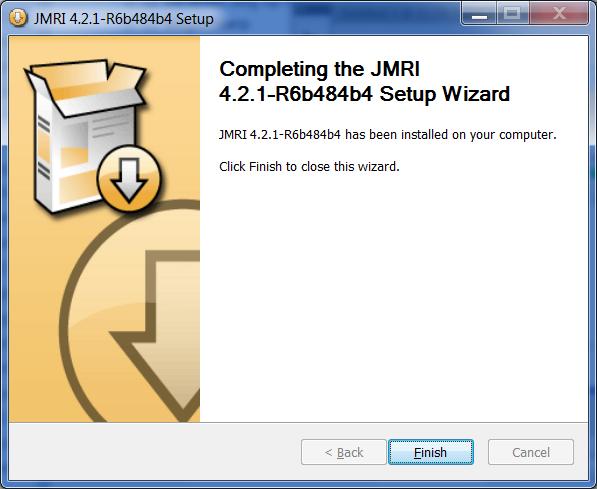 JMRI Install Guide: Windows